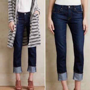 AG the Stevie Cuff Slim Straight Jeans 26